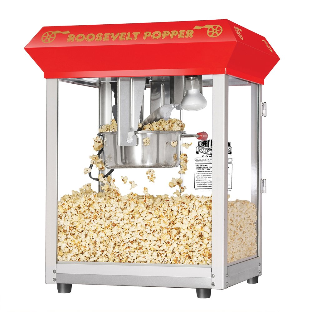 Great Northern Popcorn 6010 Roosevelt Top Antique Style Popcorn Popper Machine, 8-Ounce by Great Northern Popcorn Company (Image #10)