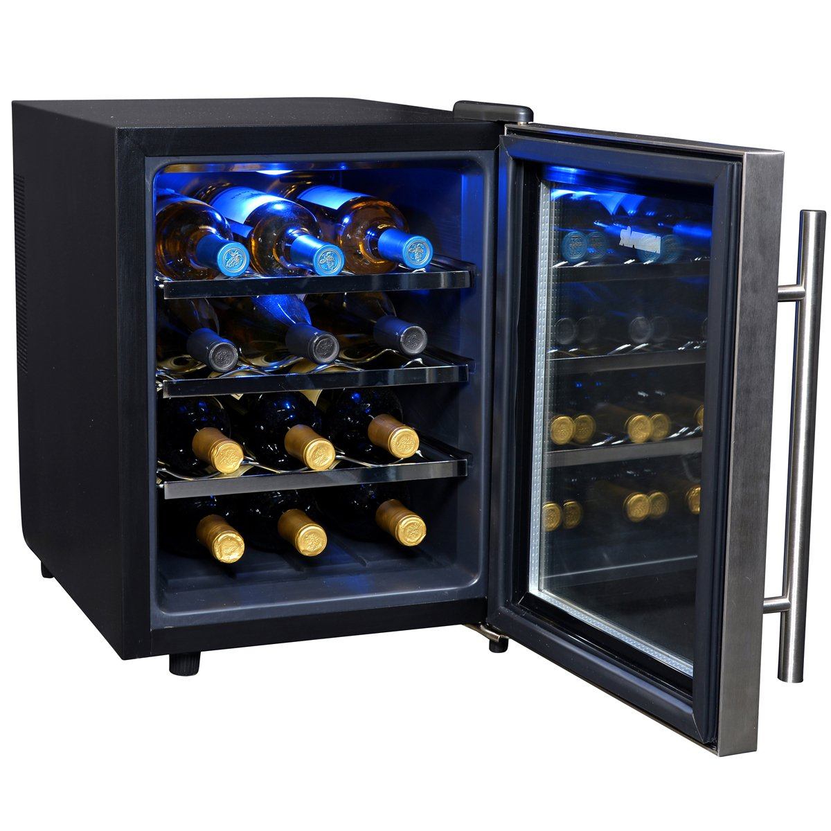on that freestanding floor ivation the white of stylish wine and bottle a or best range popular do equally its at home cooler thermoelectric mixstik model holds are this red countertop bottles behind coolers