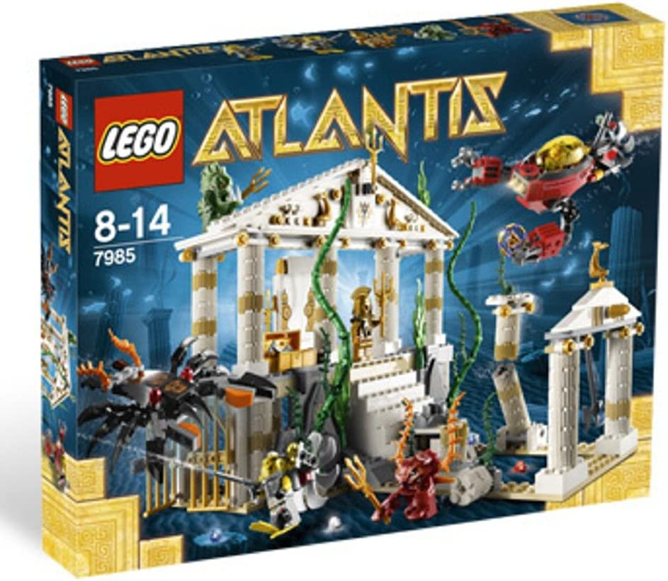 Top 9 Best LEGO Atlantis Sets Reviews in 2020 1