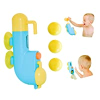 Inspiration Play Fill N' Splash Submarine Bath Toy for Baby, Toddlers, Preschoolers Ages 1-5
