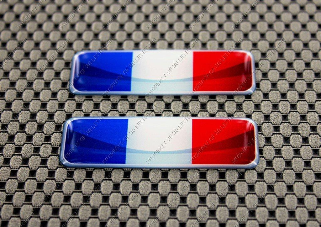 3D Lettering France Drapeau 3d Autocollant Ensemble