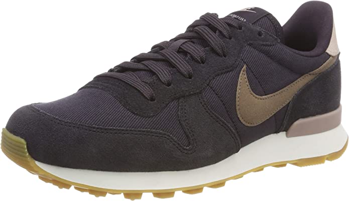 Nike Internationalist Sneakers Damen Grau/Braun (Oil Grey/Mink Brown/Summit White)