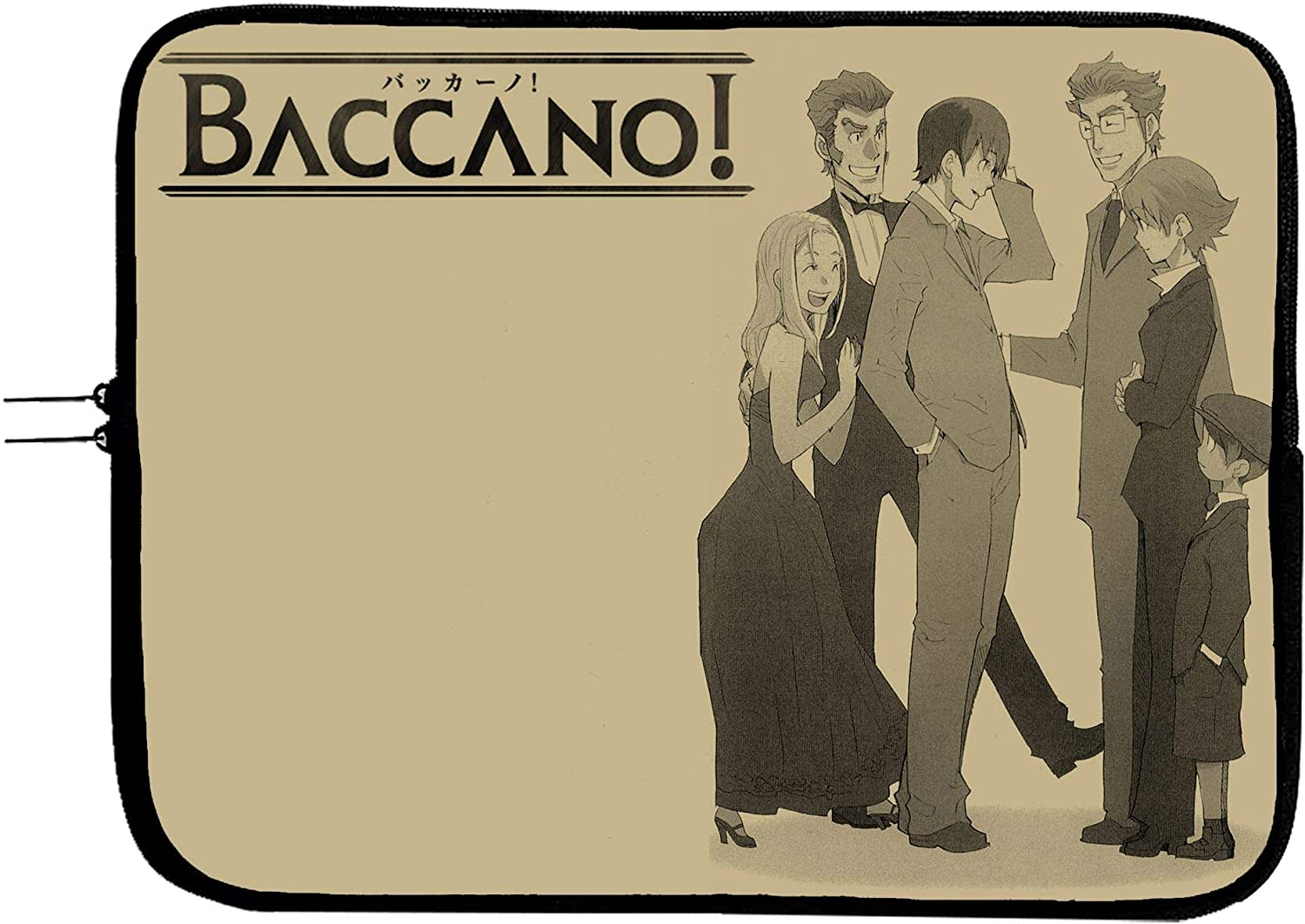 Anime Baccano Laptop Sleeve Bag Notebook Case 13 13.3 Anime Computer Bag Laptop//Tablet Water Repellent Neoprene Cushioned Case