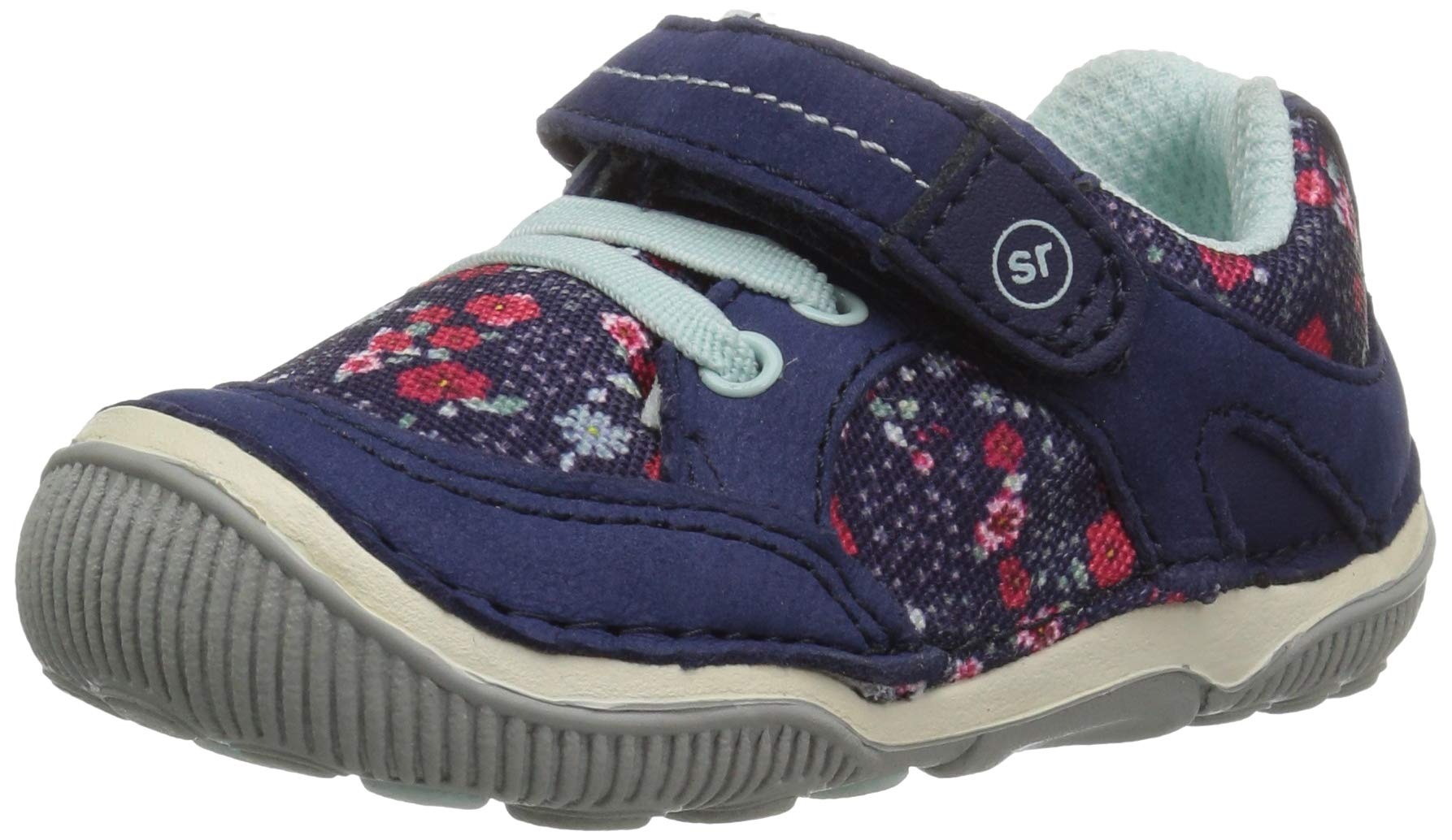 Stride Rite Rosie Toddler Girl's Lightweight Leather Sneaker, Navy, 7 M US by Stride Rite