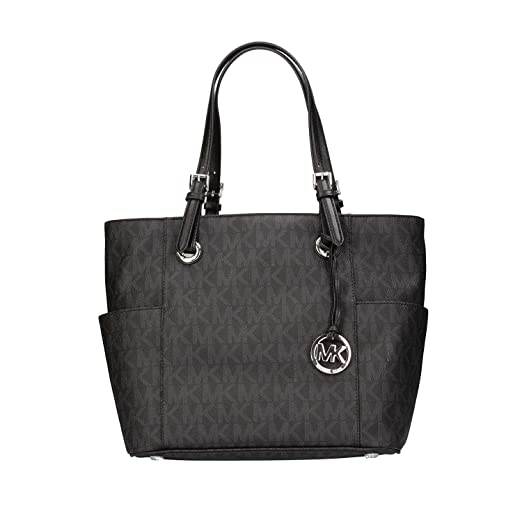 b4148d1cb075 Amazon.com  MICHAEL Michael Kors Jet Set East West Signature Tote ...