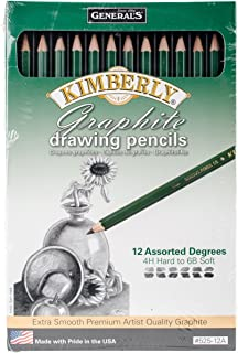 product image for General Pencil 525-12A Graphite Drawing Pencils (12 Pack)
