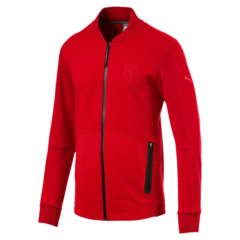 Puma 2017 Ferrari Sweat Jacket (ROT)