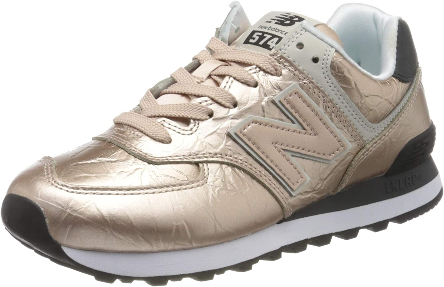 basket new balance femme rose gold