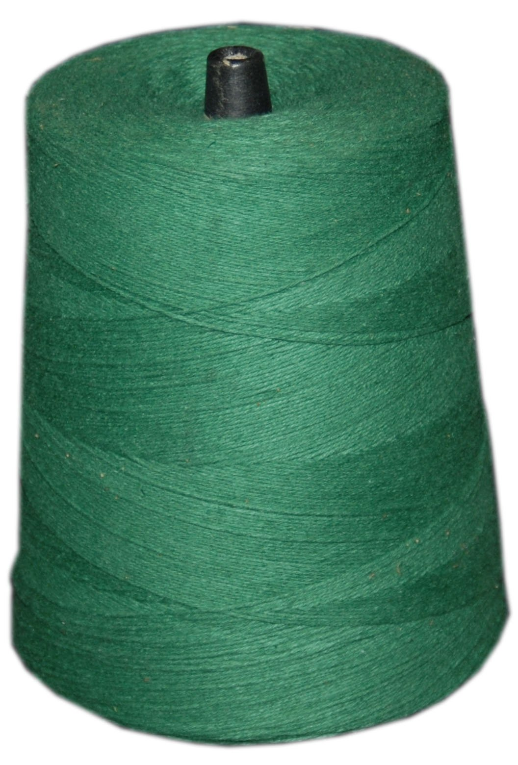 T.W Evans Cordage 07-048 4 Poly Cotton Twine 2-Pound Cone, 9600-Feet, Green