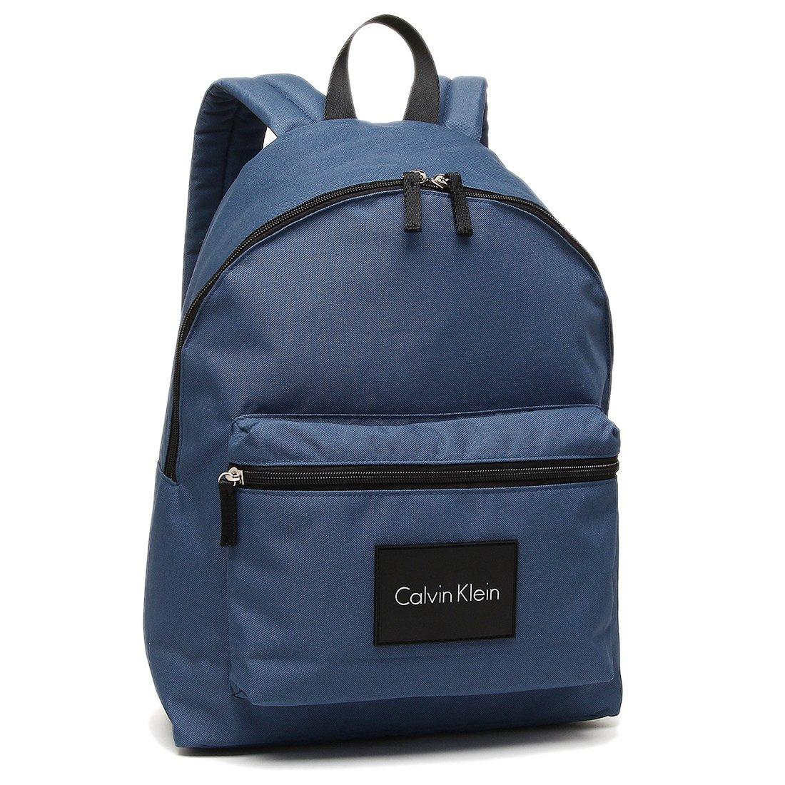 カルバンクライン バッグ アウトレット CALVIN KLEIN 46408615 404 メンズ リュックバックパック 無地 ネイビー 紺 [並行輸入品] B07D52F4P8