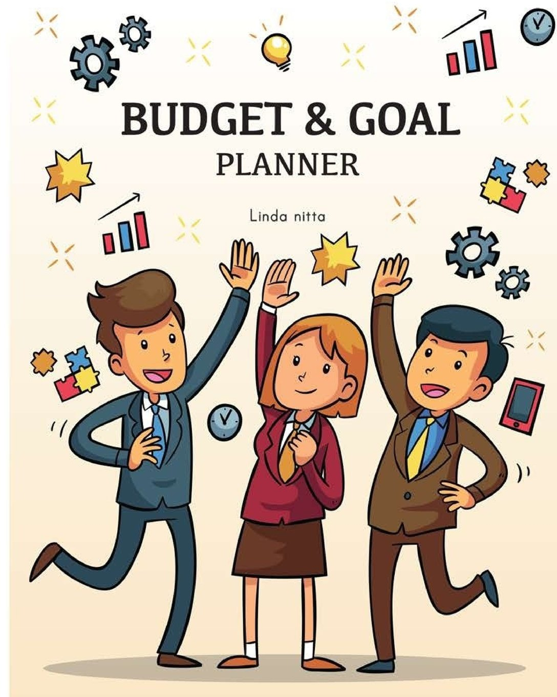 Download Budget & Goal Planner: Budget Planner : Goal Getter , Goal Plan and Month Budget  8x10 inch 120 page ebook
