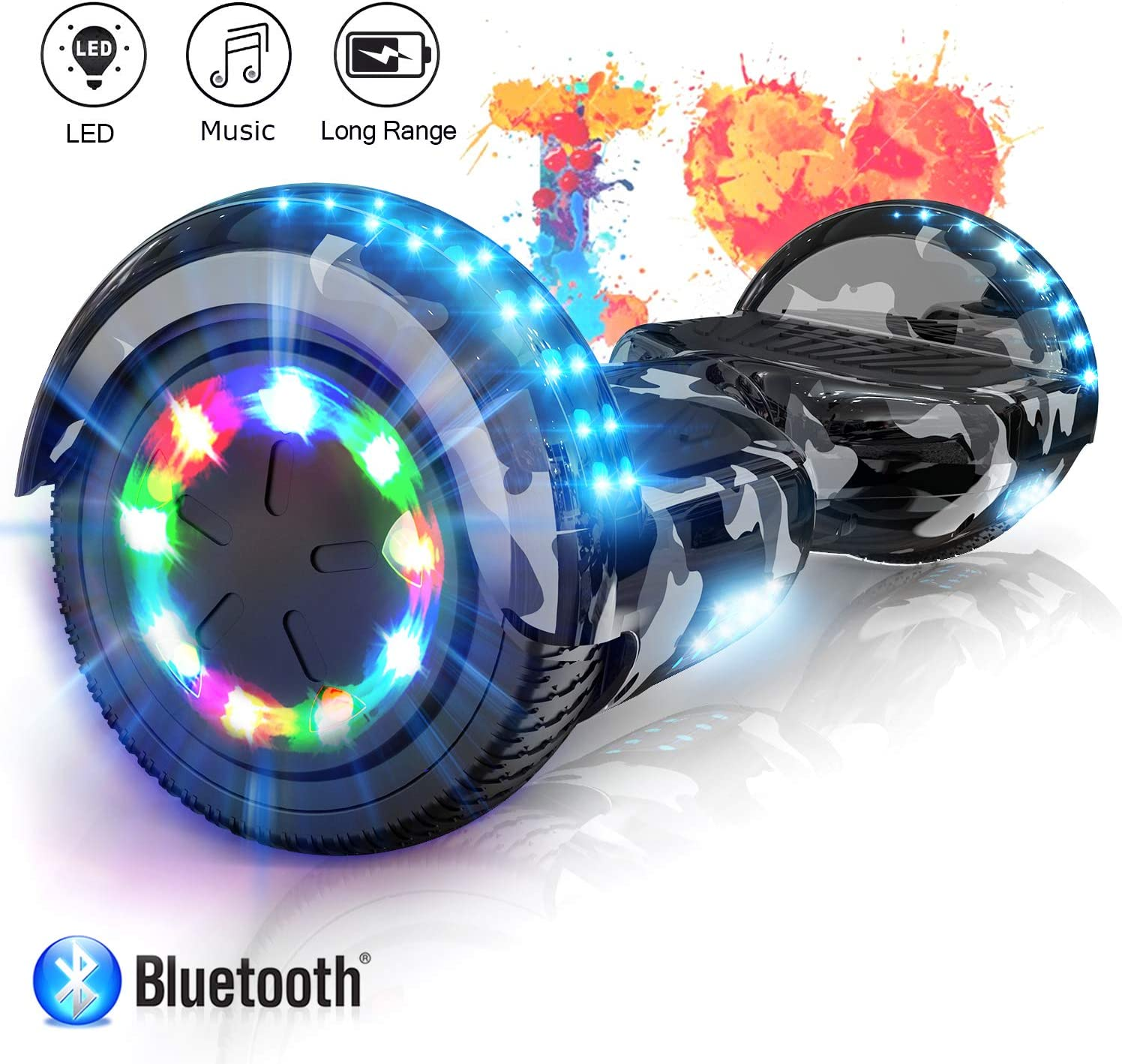 COLORWAY Self Balancing Scooter 6.5 inch - Hoverboards Segway / UK