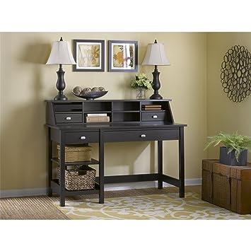 bush furniture broadview computer desk with open storage and desktop organizer espresso oak amazoncom bush furniture bow