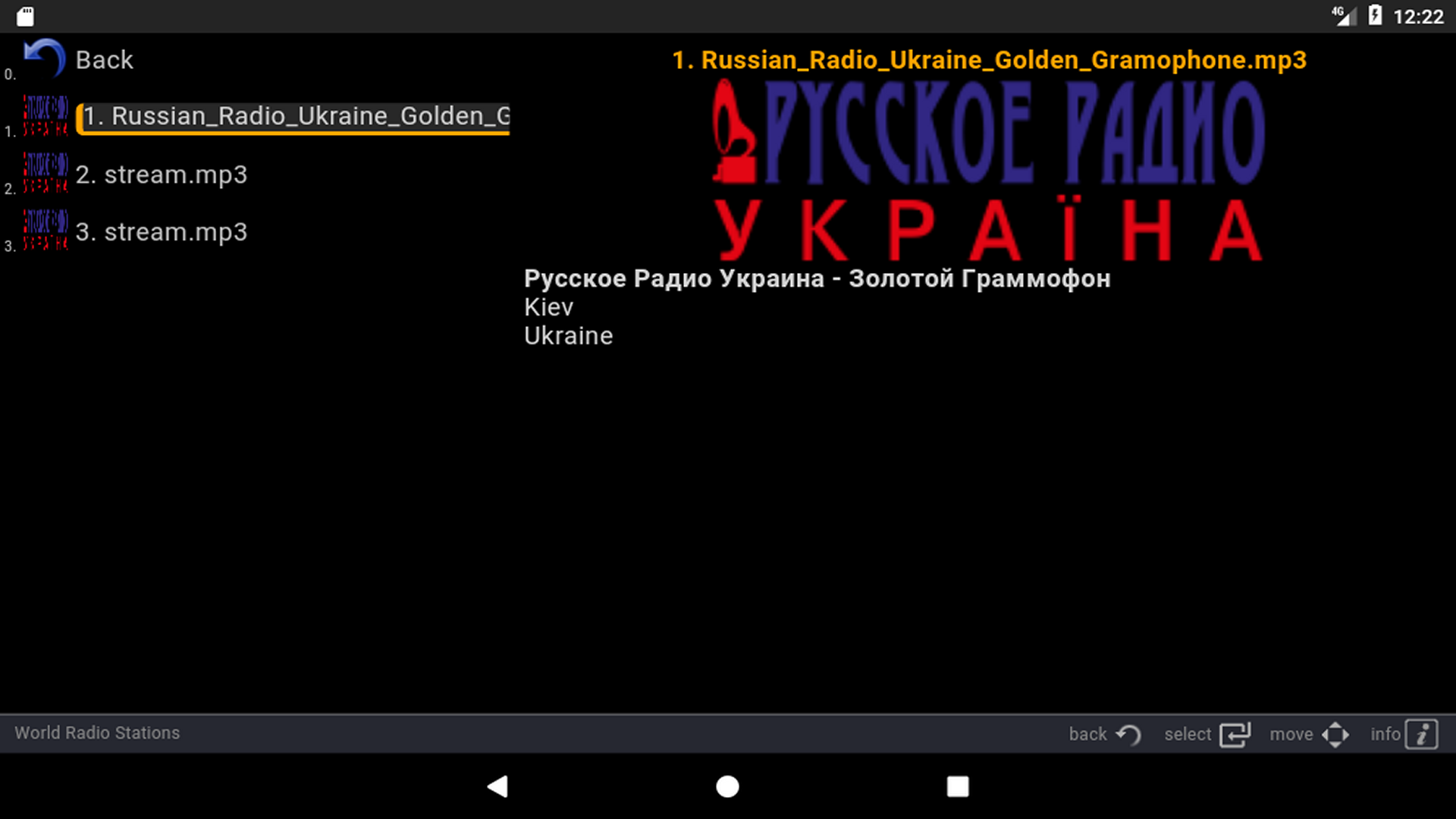 Sites of radio stations of Ukraine: a selection of sites