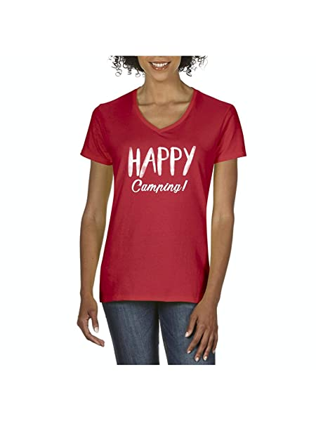 Mom S Favorite Happy Camping Outdoor Gift For Hiking Fishing Hunting T Shirt Tee 7313