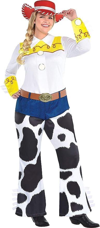 Disfraz de Jessie de fiesta para mujer, Toy Story 4, talla grande ...