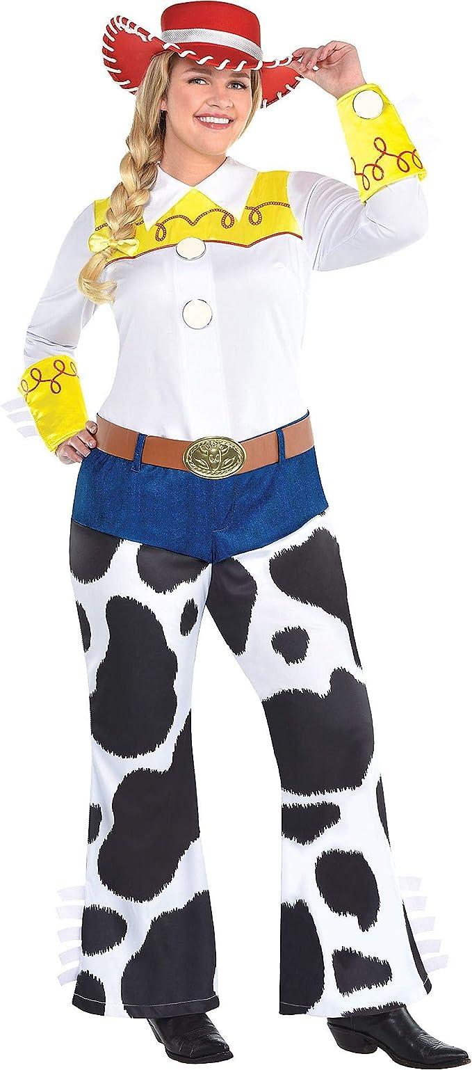 Party City Disfraz de Jessie de Fiesta para Mujer, Toy Story 4 ...