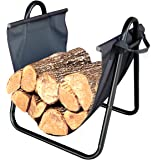 Landmann USA 82431 Firewood Log Holder with Canvas Carrier