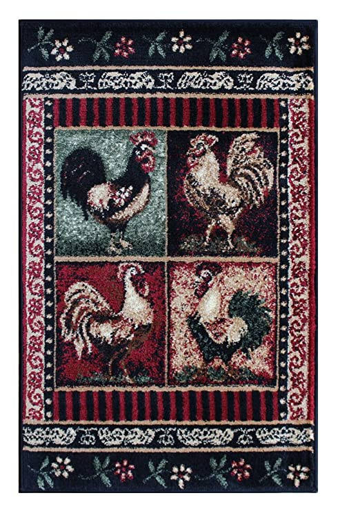 Rooster Door Mat 2 Ft. X 3 Ft. 2 In. Design # L