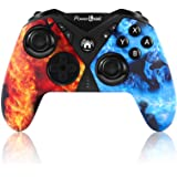 Pro Controller for Nintendo Switch, PowerLead Wireless Gaming Controller Six-axis Dual Vibration, Wireless Pro Controller for