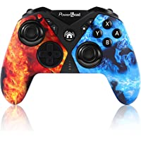 Pro Controller for Nintendo Switch, PowerLead Wireless Gaming Controller Six-axis Dual Vibration, Wireless Pro…