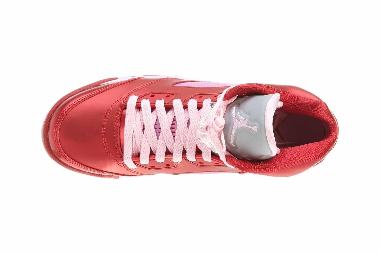 Nike Girls Air Jordan 5 Retro Valentines Girls Basketball Shoes 440892-605 4Y GS