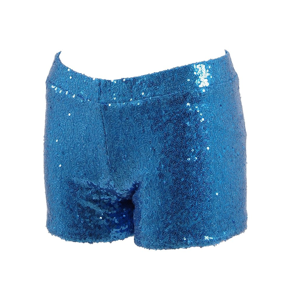 Fan Kouyang Damen Sequin Shine Glitter Shorts Paillette verschönert Party  Kurze Hose  Amazon.de  Bekleidung b374259a29