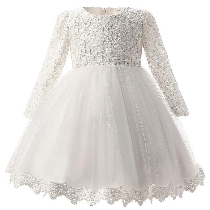 4c73d072f8e19 Amazon.com: Carolyn Jones Winter Baby Girl Christening Gown Infant ...