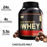 Optimum Chocolate Malt 5 Pound Nutrition Gold Standard 100% Whey Protein Powder