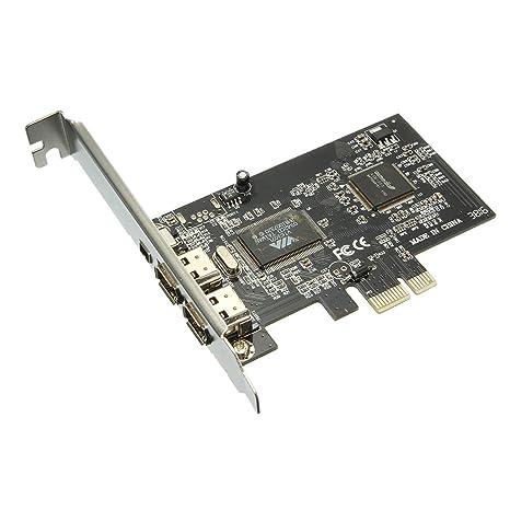 ELEGIANT PCI-E Tarjeta de Captura de vídeo 1394 Firewire 400 ...