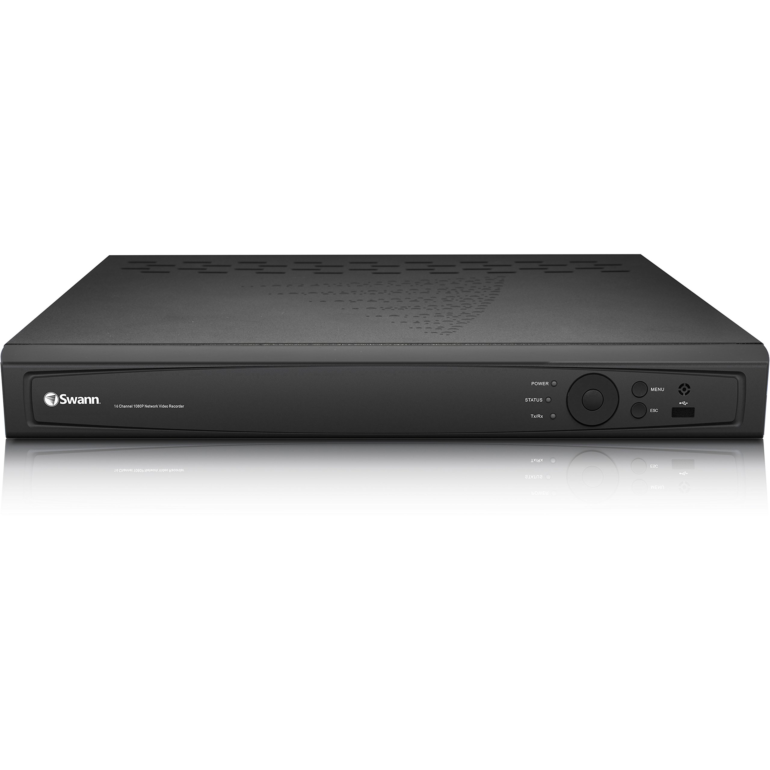 Swann 16 Channel 3MP HD Home Security NVR, 3TB HDD, Swann 7090 Series (Expand with Swann 1HD-835 Cameras) - (CONVR-B163MP-US)