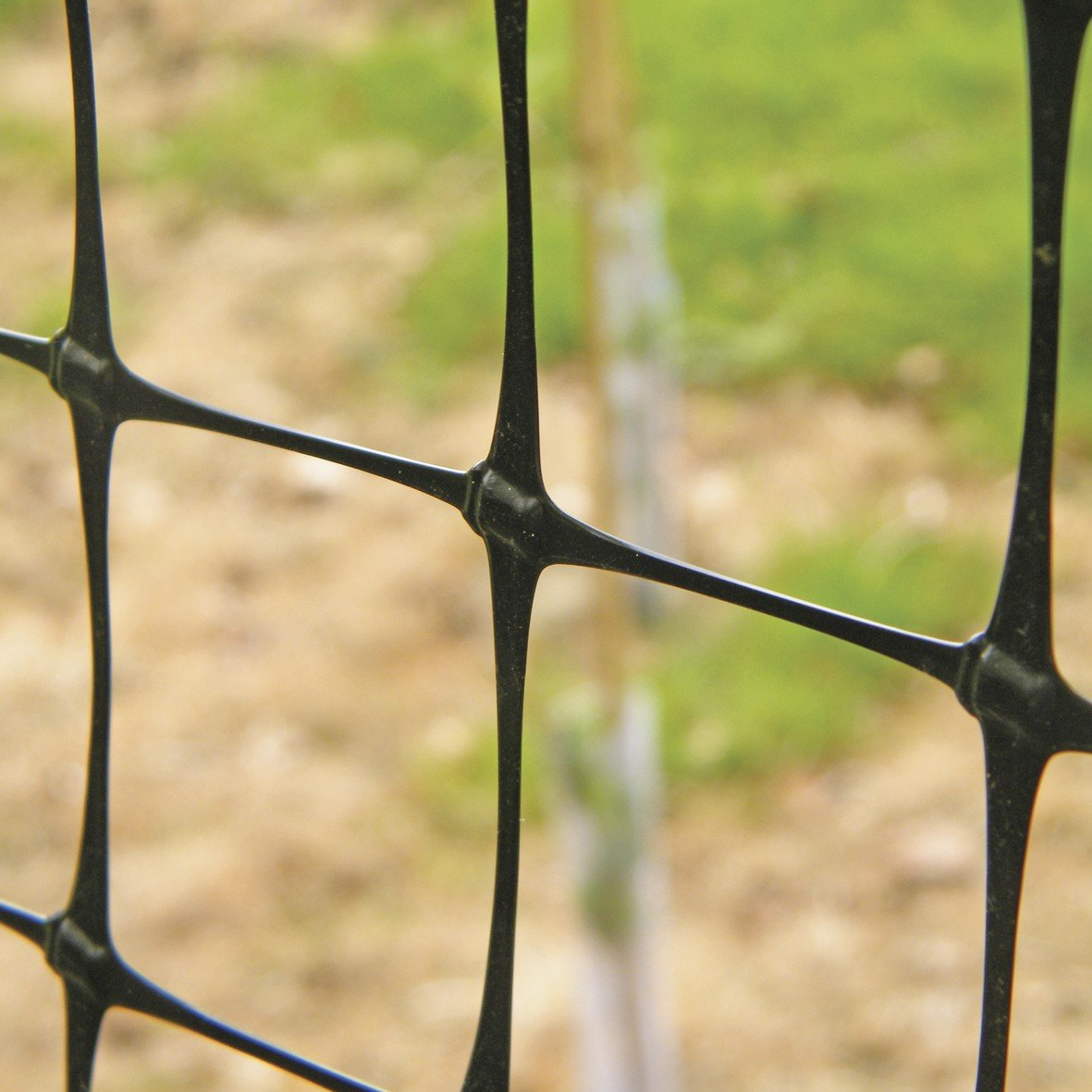 Gartennetz Mehrzwecknetz Geflügelzaun, 50 x 50mm, 1 x 100m, schwarz