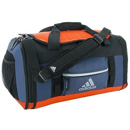 Adidas Shield Duffel Bag, Mineral Blue/Bold Orange, OneSize