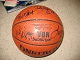 NEW JERSEY NETS team signed basketball