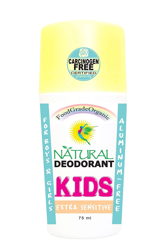Extra Sensitive Kids Organic Natural Deodorant