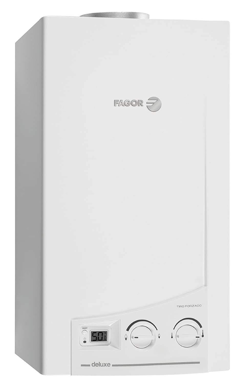 Fagor FEC-11TFDLB Vertical Depósito (almacenamiento de agua) Sistema de calentador único Blanco calentadory - Hervidor de agua (Vertical, ...
