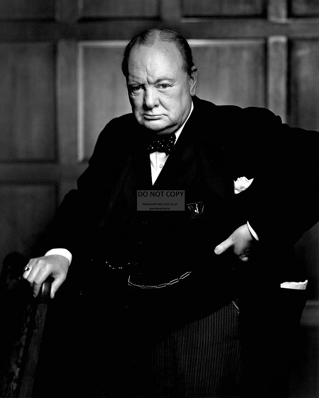 bucraft Winston Churchill British Prime Minister - 8X10 Photo (AB-510)