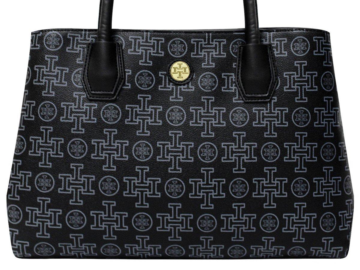 Women Tote Bag, i5 PU Leather Designer Bag Stylish Shoulder Handbag Fashionable Classic Shoppingbag Satchel for Ladies Teens Girls School Work Travel Shopping (Black)