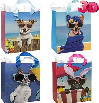Amazon.com: Bolsas de regalo 3D para cachorros y perros ...
