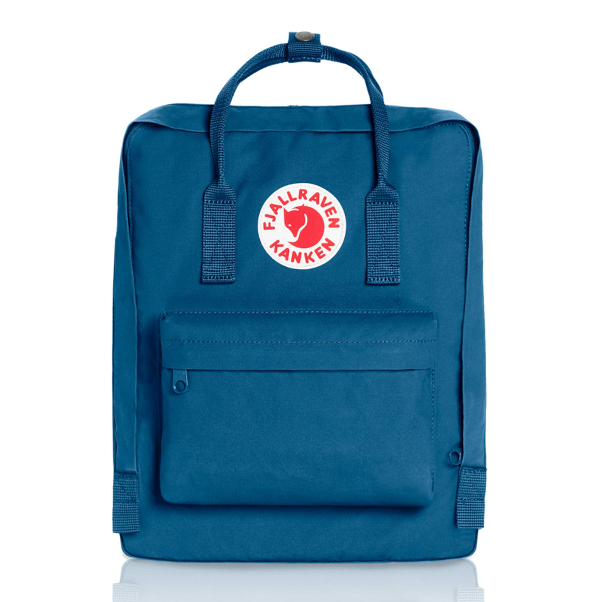 Fjallraven - Kanken Classic Pack, Heritage and Responsibility Since 1960, One Size,Lake Blue