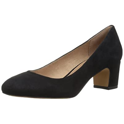 Brand - 206 Collective Women's Merritt Round Toe Block Heel Pump-Low: Shoes