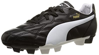Puma Unisex-Kinder Classico Ifg Jr Fußballschuhe, Schwarz (Black 01),32 EU (13UK)