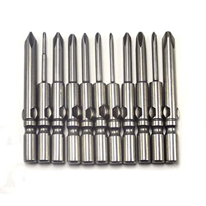 HOEN - Juego de puntas de destornillador de cruz, 11 piezas, 802, 1 ...