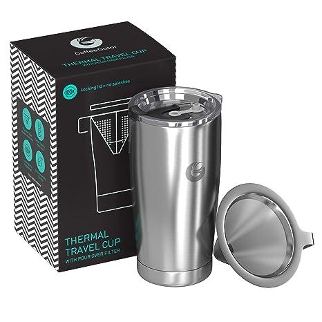 Coffee Gator Travel Mugs (Acero Inoxidable)