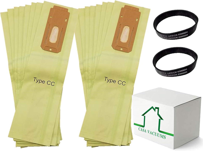 ORECK TYPE CC VACUUM vaccum CLEANER BAGS XL UPRIGHT
