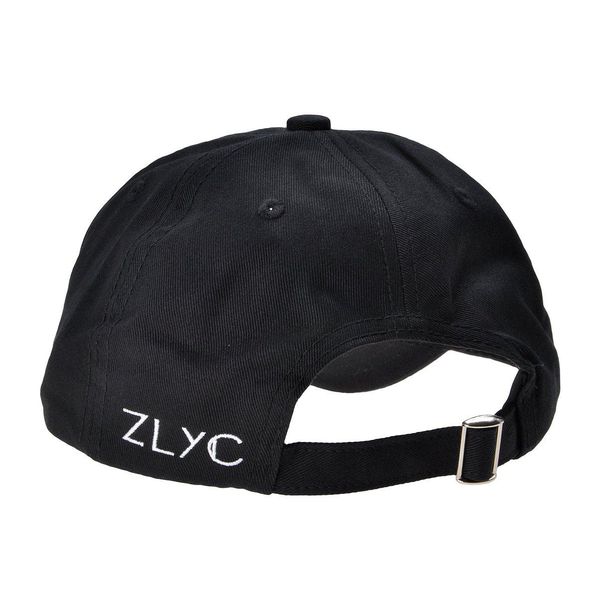 ZLYC - Gorra de béisbol - para Hombre Negro Black f8df3a94eef