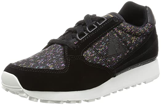 Le COQ Sportif ECLAT W Rainbow, Zapatillas para Mujer, Negro (Blackblack), 40 EU