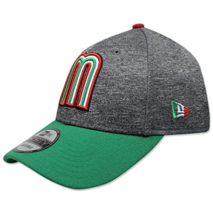 Gorra New Era 940 LMP 2018 México World Baseball Classic Gris Verde ... 11bb52b6c4d31