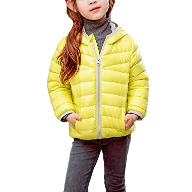 57b9ed519 Amazon.com  Zando Kids Warm Winter Down Coats for Girls Lightweight ...