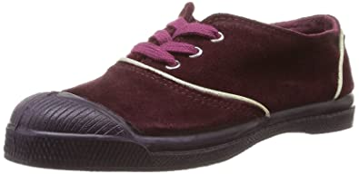 e5c73a68ae9521 Bensimon Tennis Suede Enfant, Unisex-Child Trainer, Red (Rouge (Bordeaux 403